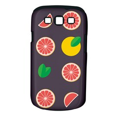 Wild Textures Grapefruits Pattern Lime Orange Samsung Galaxy S Iii Classic Hardshell Case (pc+silicone) by Mariart