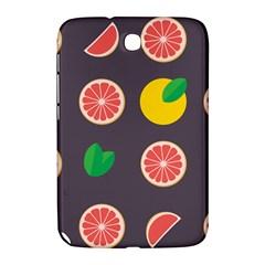 Wild Textures Grapefruits Pattern Lime Orange Samsung Galaxy Note 8 0 N5100 Hardshell Case