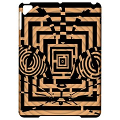 Wooden Cat Face Line Arrow Mask Plaid Apple Ipad Pro 9 7   Hardshell Case by Mariart