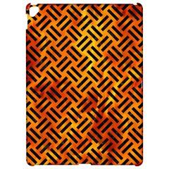 Woven2 Black Marble & Fire (r) Apple Ipad Pro 12 9   Hardshell Case by trendistuff