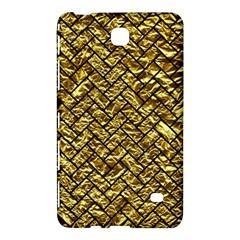 Brick2 Black Marble & Gold Foil (r) Samsung Galaxy Tab 4 (8 ) Hardshell Case  by trendistuff