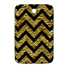 Chevron9 Black Marble & Gold Foil (r) Samsung Galaxy Note 8 0 N5100 Hardshell Case  by trendistuff