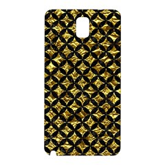 Circles3 Black Marble & Gold Foil (r) Samsung Galaxy Note 3 N9005 Hardshell Back Case by trendistuff