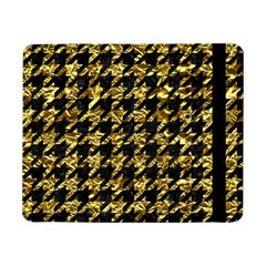 Houndstooth1 Black Marble & Gold Foil Samsung Galaxy Tab Pro 8 4  Flip Case by trendistuff