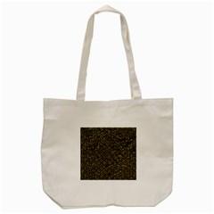 Hexagon1 Black Marble & Gold Foil Tote Bag (cream) by trendistuff