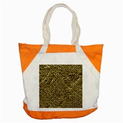 Hexagon1 Black Marble & Gold Foil (r) Accent Tote Bag by trendistuff