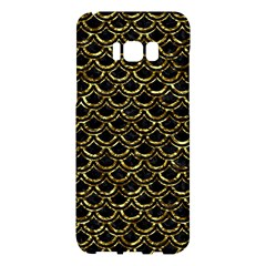 Scales2 Black Marble & Gold Foil Samsung Galaxy S8 Plus Hardshell Case  by trendistuff