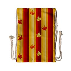 Autumn Background Drawstring Bag (small) by AllOverIt