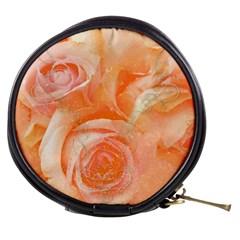 Flower Power, Wonderful Roses, Vintage Design Mini Makeup Bags by FantasyWorld7