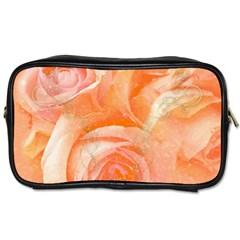 Flower Power, Wonderful Roses, Vintage Design Toiletries Bags by FantasyWorld7