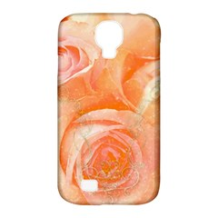 Flower Power, Wonderful Roses, Vintage Design Samsung Galaxy S4 Classic Hardshell Case (pc+silicone) by FantasyWorld7