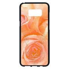 Flower Power, Wonderful Roses, Vintage Design Samsung Galaxy S8 Plus Black Seamless Case by FantasyWorld7