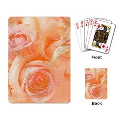 Flower Power, Wonderful Roses, Vintage Design Playing Card by FantasyWorld7