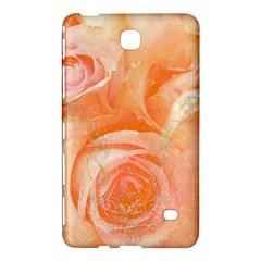 Flower Power, Wonderful Roses, Vintage Design Samsung Galaxy Tab 4 (8 ) Hardshell Case  by FantasyWorld7