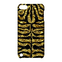 Skin2 Black Marble & Gold Foil (r) Apple Ipod Touch 5 Hardshell Case With Stand by trendistuff