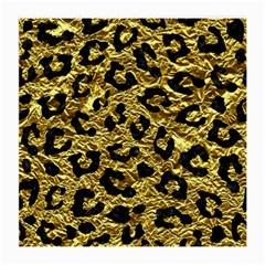 Skin5 Black Marble & Gold Foil Medium Glasses Cloth (2 Side) by trendistuff