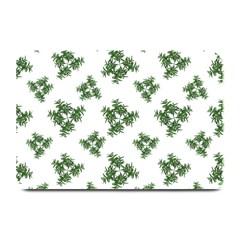 Nature Motif Pattern Design Plate Mats by dflcprints