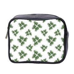 Nature Motif Pattern Design Mini Toiletries Bag 2 Side by dflcprints