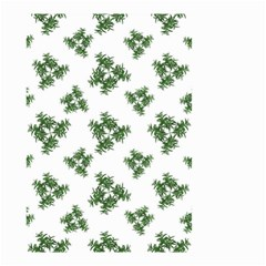 Nature Motif Pattern Design Small Garden Flag (two Sides) by dflcprints