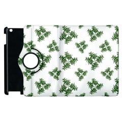 Nature Motif Pattern Design Apple Ipad 3/4 Flip 360 Case by dflcprints