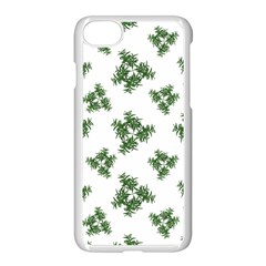 Nature Motif Pattern Design Apple Iphone 7 Seamless Case (white) by dflcprints