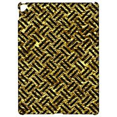 Woven2 Black Marble & Gold Foil (r) Apple Ipad Pro 12 9   Hardshell Case by trendistuff