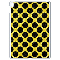 Circles2 Black Marble & Gold Glitter (r) Apple Ipad Pro 9 7   White Seamless Case by trendistuff