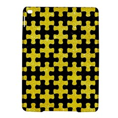 Puzzle1 Black Marble & Gold Glitter Ipad Air 2 Hardshell Cases by trendistuff
