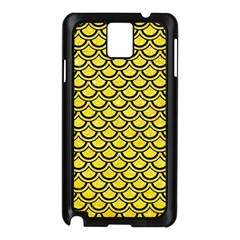 Scales2 Black Marble & Gold Glitter (r) Samsung Galaxy Note 3 N9005 Case (black) by trendistuff
