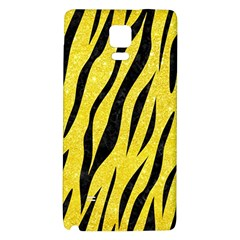 Skin3 Black Marble & Gold Glitter (r)skin3 Black Marble & Gold Glitter (r) Galaxy Note 4 Back Case by trendistuff