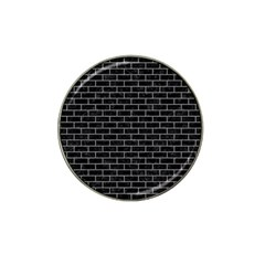 Brick1 Black Marble & Gray Colored Pencil Hat Clip Ball Marker (4 Pack) by trendistuff