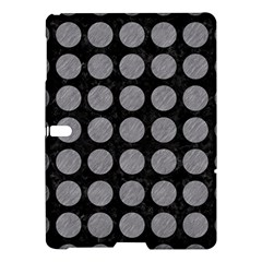 Circles1 Black Marble & Gray Colored Pencilcircle1 Black Marble & Gray Colored Pencil Samsung Galaxy Tab S (10 5 ) Hardshell Case  by trendistuff