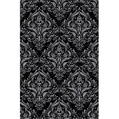 Damask1 Black Marble & Gray Colored Pencil 5 5  X 8 5  Notebooks by trendistuff