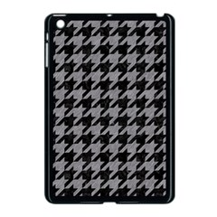 Houndstooth1 Black Marble & Gray Colored Pencil Apple Ipad Mini Case (black) by trendistuff