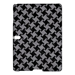 Houndstooth2 Black Marble & Gray Colored Pencil Samsung Galaxy Tab S (10 5 ) Hardshell Case  by trendistuff