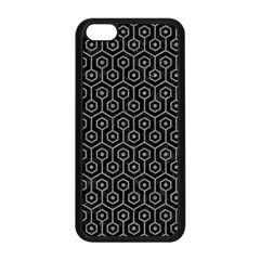 Hexagon1 Black Marble & Gray Colored Pencil Apple Iphone 5c Seamless Case (black) by trendistuff