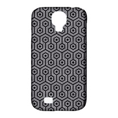 Hexagon1 Black Marble & Gray Colored Pencil (r) Samsung Galaxy S4 Classic Hardshell Case (pc+silicone) by trendistuff