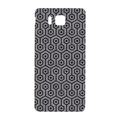 Hexagon1 Black Marble & Gray Colored Pencil (r) Samsung Galaxy Alpha Hardshell Back Case by trendistuff