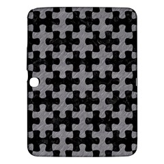 Puzzle1 Black Marble & Gray Colored Pencil Samsung Galaxy Tab 3 (10 1 ) P5200 Hardshell Case  by trendistuff