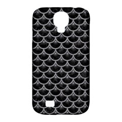 Scales3 Black Marble & Gray Colored Pencil Samsung Galaxy S4 Classic Hardshell Case (pc+silicone) by trendistuff