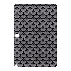 Scales3 Black Marble & Gray Colored Pencil (r) Samsung Galaxy Tab Pro 12 2 Hardshell Case by trendistuff