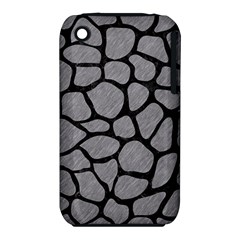 Skin1 Black Marble & Gray Colored Pencil Iphone 3s/3gs by trendistuff