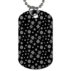 Xmas Pattern Dog Tag (two Sides) by Valentinaart