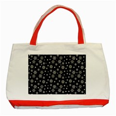 Xmas Pattern Classic Tote Bag (red) by Valentinaart
