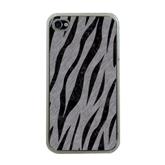 Skin3 Black Marble & Gray Colored Pencil (r) Apple Iphone 4 Case (clear) by trendistuff
