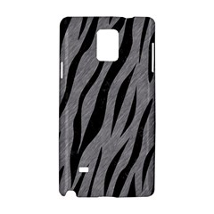Skin3 Black Marble & Gray Colored Pencil (r) Samsung Galaxy Note 4 Hardshell Case by trendistuff