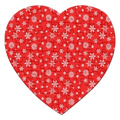 Xmas Pattern Jigsaw Puzzle (heart) by Valentinaart