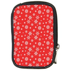 Xmas Pattern Compact Camera Cases by Valentinaart