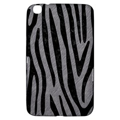 Skin4 Black Marble & Gray Colored Pencil Samsung Galaxy Tab 3 (8 ) T3100 Hardshell Case  by trendistuff