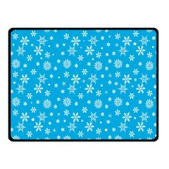Xmas Pattern Double Sided Fleece Blanket (small)  by Valentinaart